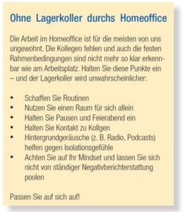 Checkliste fürs Homeoffice