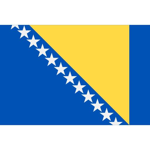 Bosnische Flagge