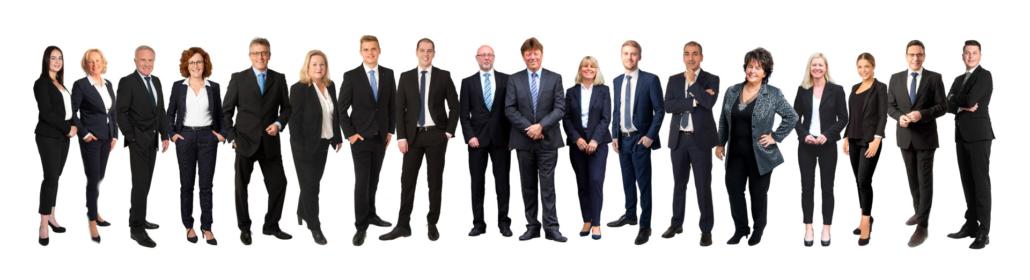 Das Team der Selektive Gruppe
