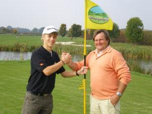 Sieger bei der Golffahne